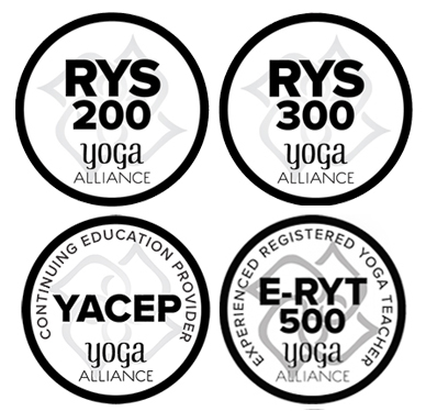 Yoga Alliance Logos RYS200 RYS300